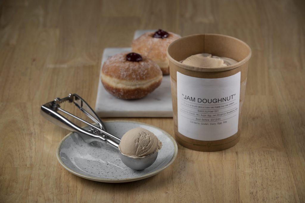 Jam Doughnut Ice Cream