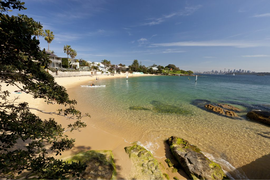 Camp Cove at Watsons Bay in Sydney