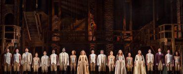 The Australian production of Broadway showHamilton