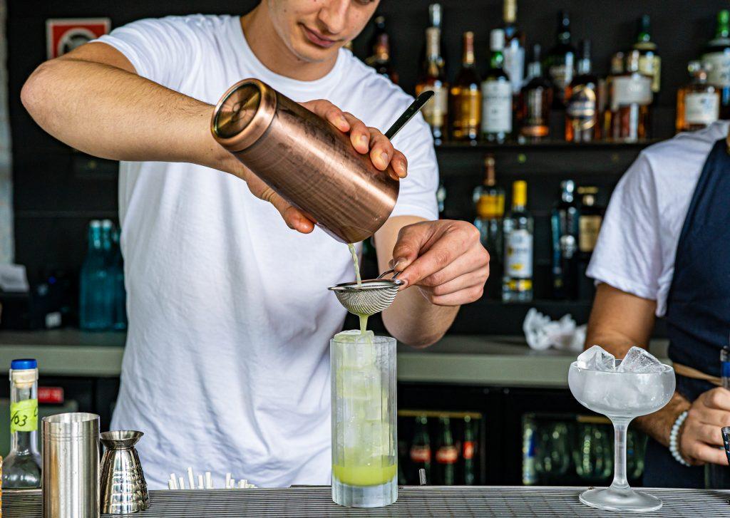Bartender at Bar Tikram