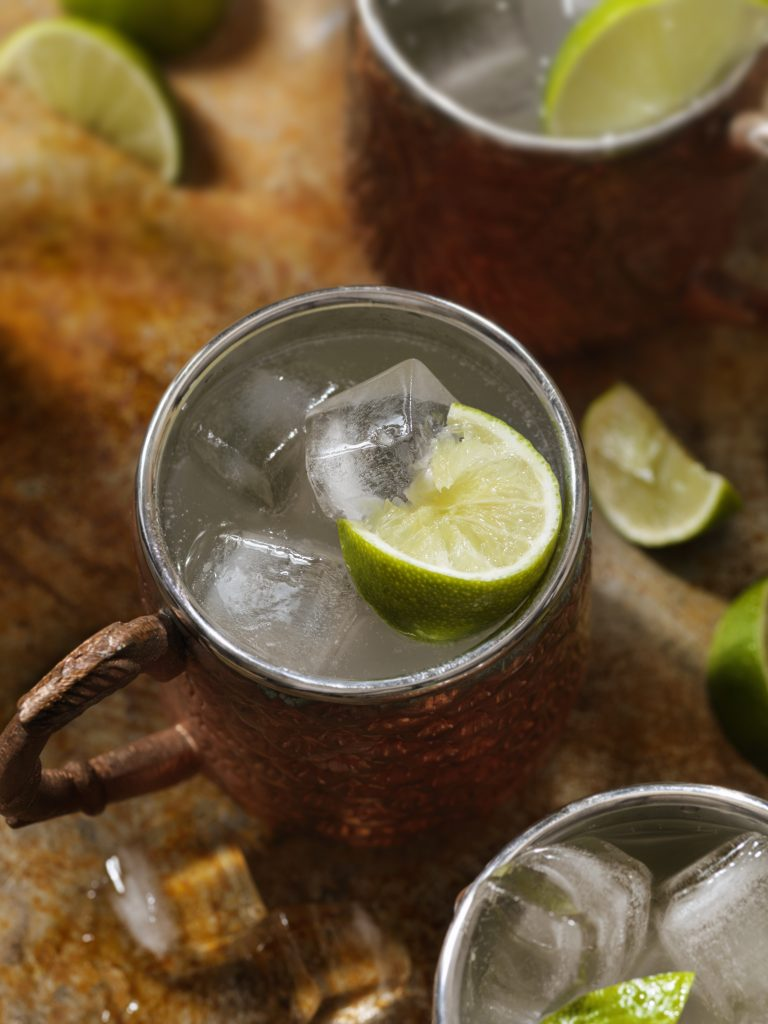 Classic Moscow Mule Cocktail