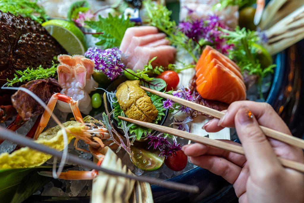 Seafood platter at Sokyo