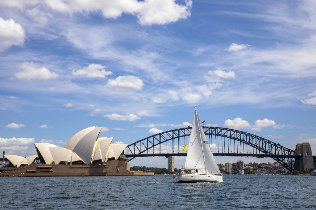 Sailing tour on Sydney Harbour