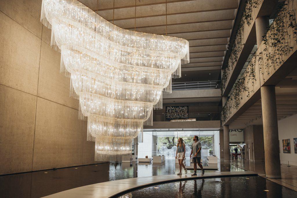 Ai Weiwei's Boomerang Installation at QAGOMA