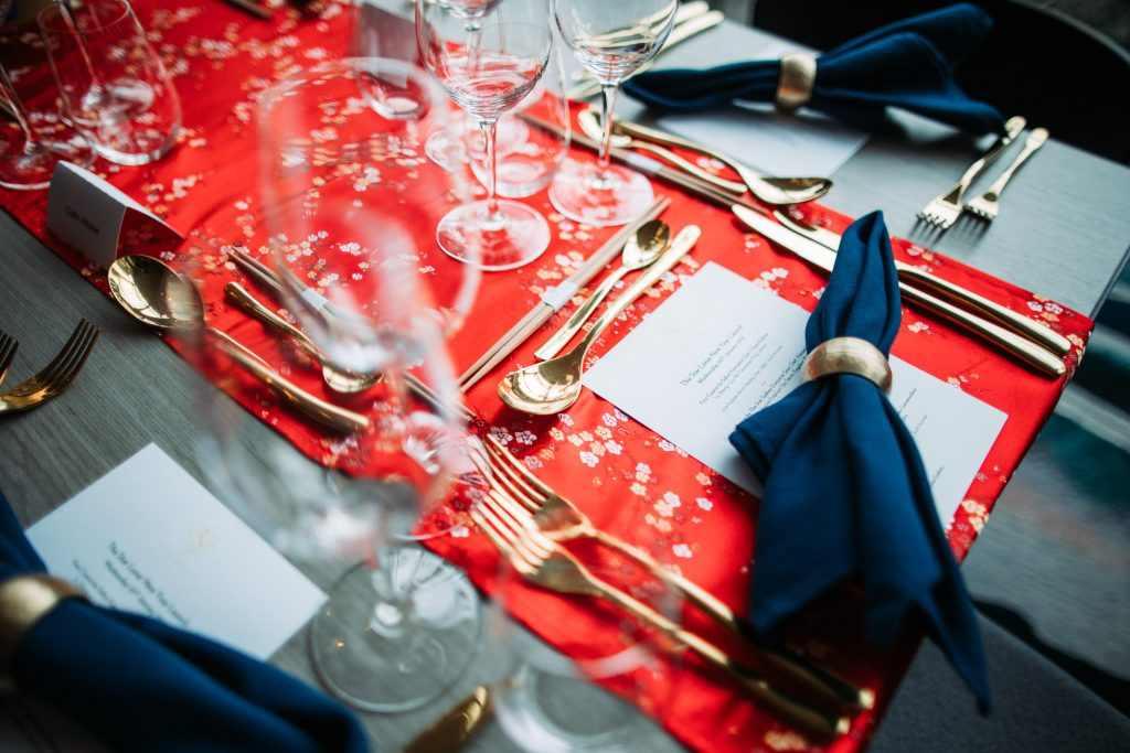 Table set for LNY