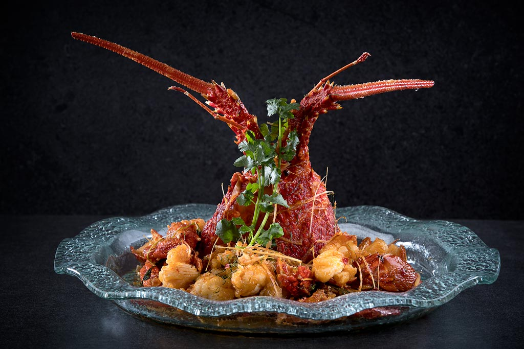 Lobster with Thai Chili Sauce from The Imperial at The Star