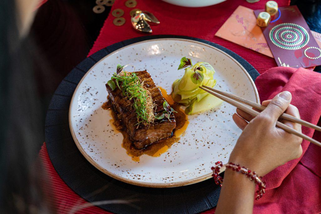 Pork Belly at Sokyo