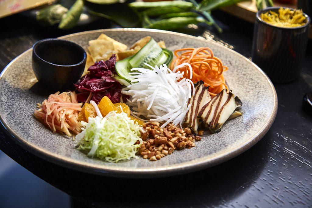 Prosperity Salad with Abalone at CHUUKA