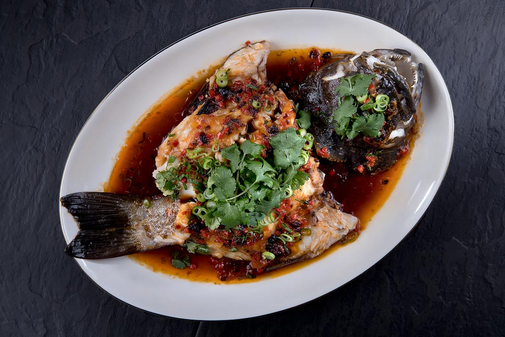 Steamed Whole Fish at Imperial
