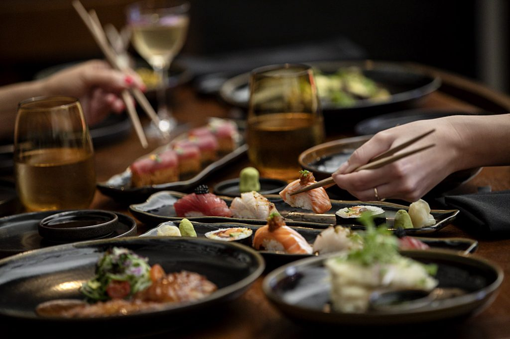 Sushi and Sashimi Feast at Kiyomi