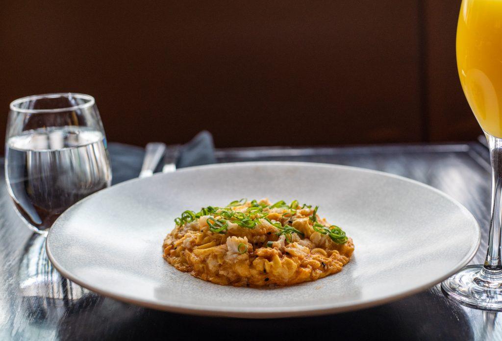 Crab Omelette Sokyo