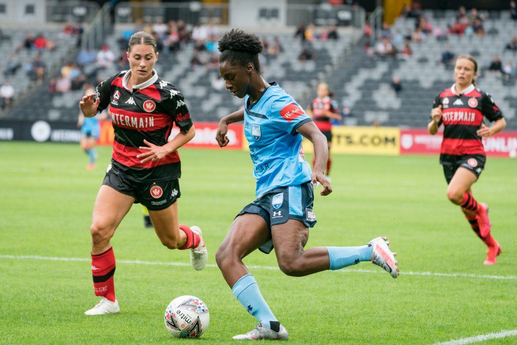 Sydney FC Player Princess Ibini-Isei