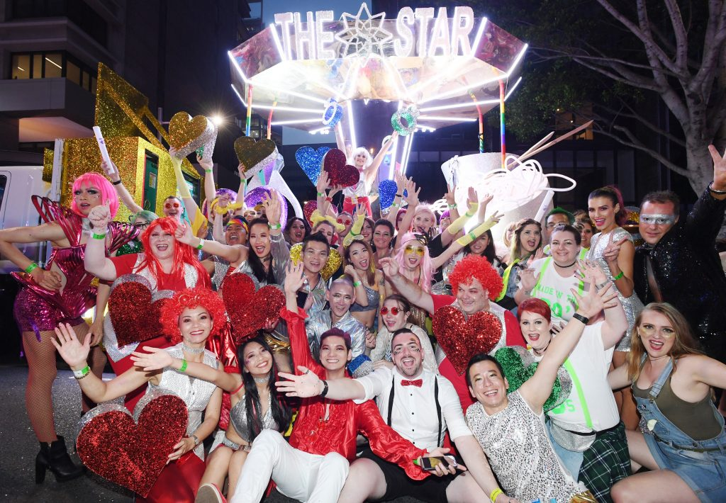 The Star in the 2018 Mardi Gras parade