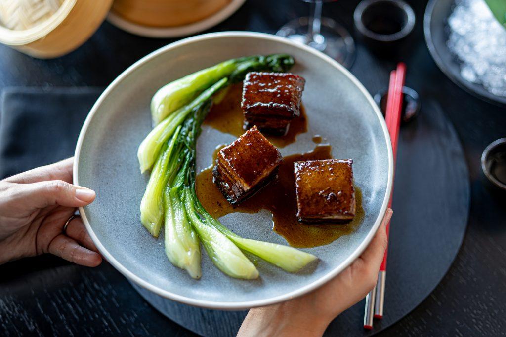 Pork Belly with Bok Choi